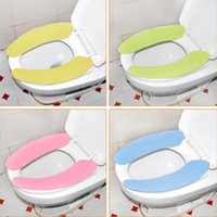 Wholesale hot sale High quality non woven fabrics pp film Bathroom Warmer Toilet Closestool Washable Healthy Seat Cover Pads winter