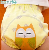 animal breads - Bebezoo baby kids cartoon underwear boys girl yellow owl bread pants kids blue clouds sheep pp shorts sets toddler cotton shorts A9024