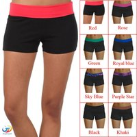 best yoga shorts - 2016 Brand New Women Summer Sports Gym Workout Waistband Skinny Sexy Yoga Shorts Pants For Best Price