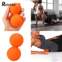 Wholesale Double Lacrosse Mobility Trigger Point Release Massage Cross Ball Exercise