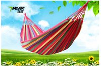 Wholesale canvas hammock outdoor or indoor recreational camping Furniture