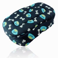 Wholesale Comfortable Warm Puppy Dog Cat Pet Mat Pad Bed Cushion Basket Sofa Couch Blue ET0050 couch shoes