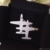 anchor shape - Famous Brand cc with logo lapel cc pin brooch for lady broszki plane shape epaulette gift pin up brooches for women scarf clip