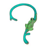 Wholesale 2016 Hot New Earrings Fashion Ear Cuff Night Lights Pendientes Frog Pendant Ear Clips Cute Earrings for Women Fine Jewelry
