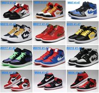 big blue basketball - Fashion A1 Basketball Shoes For Men retro air Sneakers Big Discount high quality MID Cut JI Trainers Mens Sports Shoes