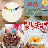 baby shower straws - mixed styles happy birthday straw cake toppers food picks wedding baby bridal shower Cake Accessories decorations