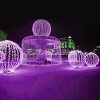 Wholesale Christmas Ornaments For Garden - Festive Party Supplies Christmas Decoration Supplies 10m LED Light Strap Lamp White Waterproof for Garden Christmas Decoration E1Xc