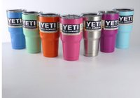 Wholesale oz YETI Cups Stainless Steel Insulation YETI Rambler Mug Large Capacity Mug Tumblerful