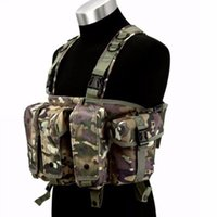 ak magazine vest - Fall Military Tactical Camouflage Vest Airsoft Ammo Chest Rig AK Magazine Carrier Combat
