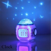 amazing alarm clock - Sky Star Night Light Indoor Lighting Atmosphere Amazing Flashing Colorful family PATY Bedroom Alarm Clock Projector Lamp
