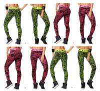 Wholesale S M L XL New arrival woman leggings Keep On Glowing Long Leggings yoga pants red green