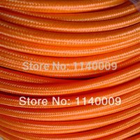 Wholesale VDE SAA Certified wire x mm2 Color Fabric Cable Fabric Wire Cololful Braided Power Cord Cable