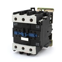 ac motor coil - AC3 Rated Current A Poles NC NO V Coil Ith A Phase AC Contactor Motor Starter Relay DIN Rail Mount