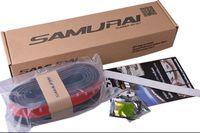 Wholesale freeship car accessary Samurai Rubber Skirt M Length Lip Skirt Protector Universal Car Front Lip Bumper Rubber Strip