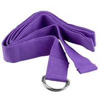 Wholesale Fitness Exercise Gym Yoga Stretch Strap D Ring Belt Figure Waist Leg