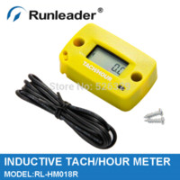 Wholesale RL HM018R Digital Resettable Maintenance Service Reminder Meter Gasoline Engine Hour Meter Tachometer meter iphone meter dc