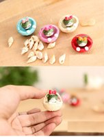 basket material - Ji cute round bottom basket cheese cat resin micro simulation landscape material KFC Japan diy moss little cat