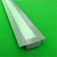 aluminium floor strip - 10m X1m inch mm ultra wide embedded led aluminium profile for floor inground led bar light for mm strip