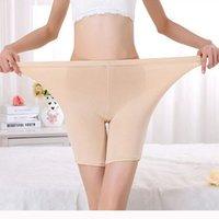 Precio de Los pantalones más el tamaño 24-Venta al por mayor-más tamaño de las señoras de bambú boxeador pantalones cortos de verano ligero pantalones seguros Boyshort ropa interior para las mujeres 24-40 pulgadas