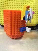 2016Creative bricolaje Build-a-ladrillo café / bebida de café Lego PixelBlocks <b>Mega Blocks</b> KRE-O o ladrillos K'NEX ladrillos compatibles Copa 2015 NUEVA LLEGADA