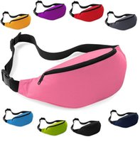 Wholesale 200X High quality cheap Fashion Unisex Bag Travel Handy Hiking Sport Fanny Pack Waist Belt Zip Pouch Bag