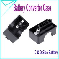 Wholesale C and D size battery Adapter Converter Case Pack