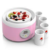 Wholesale natto rice wine yogurt machine full ceramic liner household automatic cup feeding powder