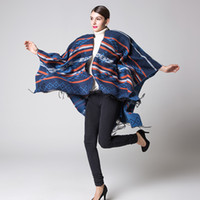 Wholesale Fashion Women s Printed Pashmina Shawl Scarves Blanket Cape Poncho Sweater