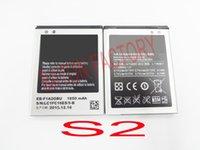 Wholesale S2 EB F1A2GBU Cellphone Lithium Battery For Samsung Galaxy s2 i9101 i9108 i9103 i9188 i9100g i9050 B9062