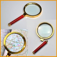 Wholesale 1pcs Reading X handheld Magnifier Hand Held Magnifying mm Glass handheld High Quality