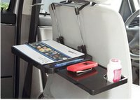 Wholesale Portable Multifunction Car notebook stand Laptop Stand Table Cup Drinks Holder computer disk laptop holder