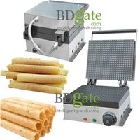 Wholesale v v Commercial use electric machine crispy waffle oven baked egg roll machine Crispy ice cream maker machine