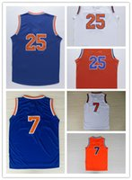 Wholesale 2016 Nestset Rose Basketball Jerseys White Blue Orange Rose Jerseys with Stitched Name and Number
