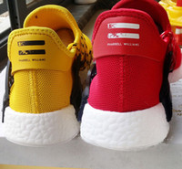 cotton table runner - NMD Human Race Pharrell s Runner and Trainer NMDs Boost Running Shoes Hu race Williams White Black Red Green Blue Grey Yellow Runner