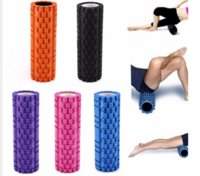 Wholesale 5 Colors High Density Floating Point Fitness Gym Exercises EVA Yoga Foam Roller for Physio Massage