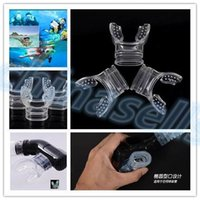 Wholesale Safe Silicone diving mouthpiece underwater Diving Dive Tube Snorkel Mouthpiece Regulator Swimming snorkel mouthpiece Accessory