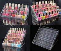 acrylic floor polish - 5 Tier Cosmetic Nail Polish Stand Varnish Acrylic Display Stand Rack Retail Holder Organizer