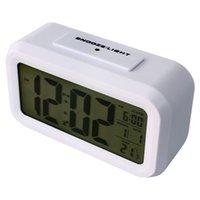 Wholesale Whole Sale Morning Clock low Light Sensor Technology light on Backligt When Detect Low Light soft Light That Won t Disturb the Sleep