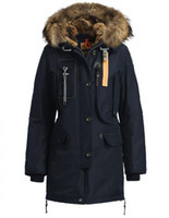 online shopping - 1 Original Quality Shop Kodiak Jackets Online Sale Navy Blue Color Kodiak Outlet Norge Removable big Fur Size XS XL