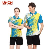 Wholesale Badminton wear sportswear Badminton Clothing T shirt male shorts tennis clothes drying air