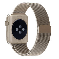 Wholesale Top Quality New Magnetic Closure Stainless Steel Mesh Watchband Strap Bracelet Watch Bands For Apple Watch For iWatch