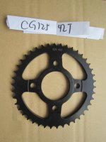 Wholesale factory wholesales cg125 T sprocket wheel high quality motorcycle spare parts
