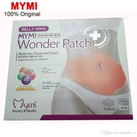 Wholesale MYMI Wonder Slimming Patch Belly Abdomen Weight Loss Fat burning Slim Patch Cream Navel Stick Efficacy Strong C067