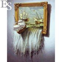 Wholesale Needlework DIY Diamond Painting Cross Stitch Square Diamond Embroidery Home Decoration D Mosaic W5 F0748