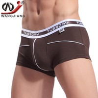 bamboo gauze - Boxer Shorts WJ Sexy Men Underwear Breathable Gauze Bamboo Fiber Boxer Pull In Underpants Boxer Homme Calzoncillos Hombre