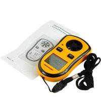 Wholesale LCD Digital Mini Anemometer Air Wind Speed Scale Gauge Meter Pocket Smart Measure Velocity GM8908
