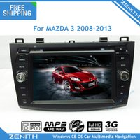 audio control car navigation - DIN Car DVD GPS For Mazda DVD Mazda3 navigation with Bluetooth Radio RDS steering wheel control stereo audio