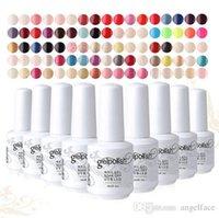 Wholesale Removable UV Phototherapy Nail Polish UV Gel Soak Off Gel Colors Gelpolish ml Varnish Brand New Top