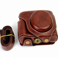 Wholesale High Quality Colors Photo Bag New Oily Leather Camera Bag Case For Fuji X70 Digital Camera Shoulder Bags Backpack Cases