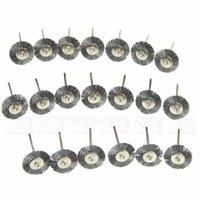 Wholesale Stainless Steel Wire Wheel Brush Cleaner Grinding Polishing Rotary Tool